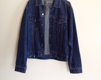 SALE - 30% off dreamy vtg denim jacket