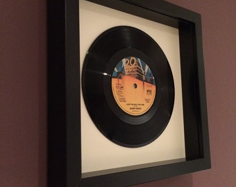 "Barry White ""Just The Way You Are"" Framed Vinyl Gift"