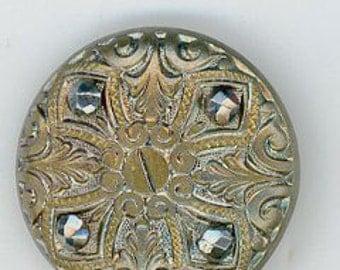 Maltese Cross Button