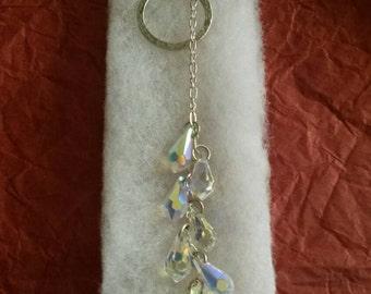 Tear Drop Dangle Crystal necklaces