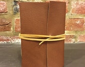 Handmade Soft Cover Faux Leather Journal