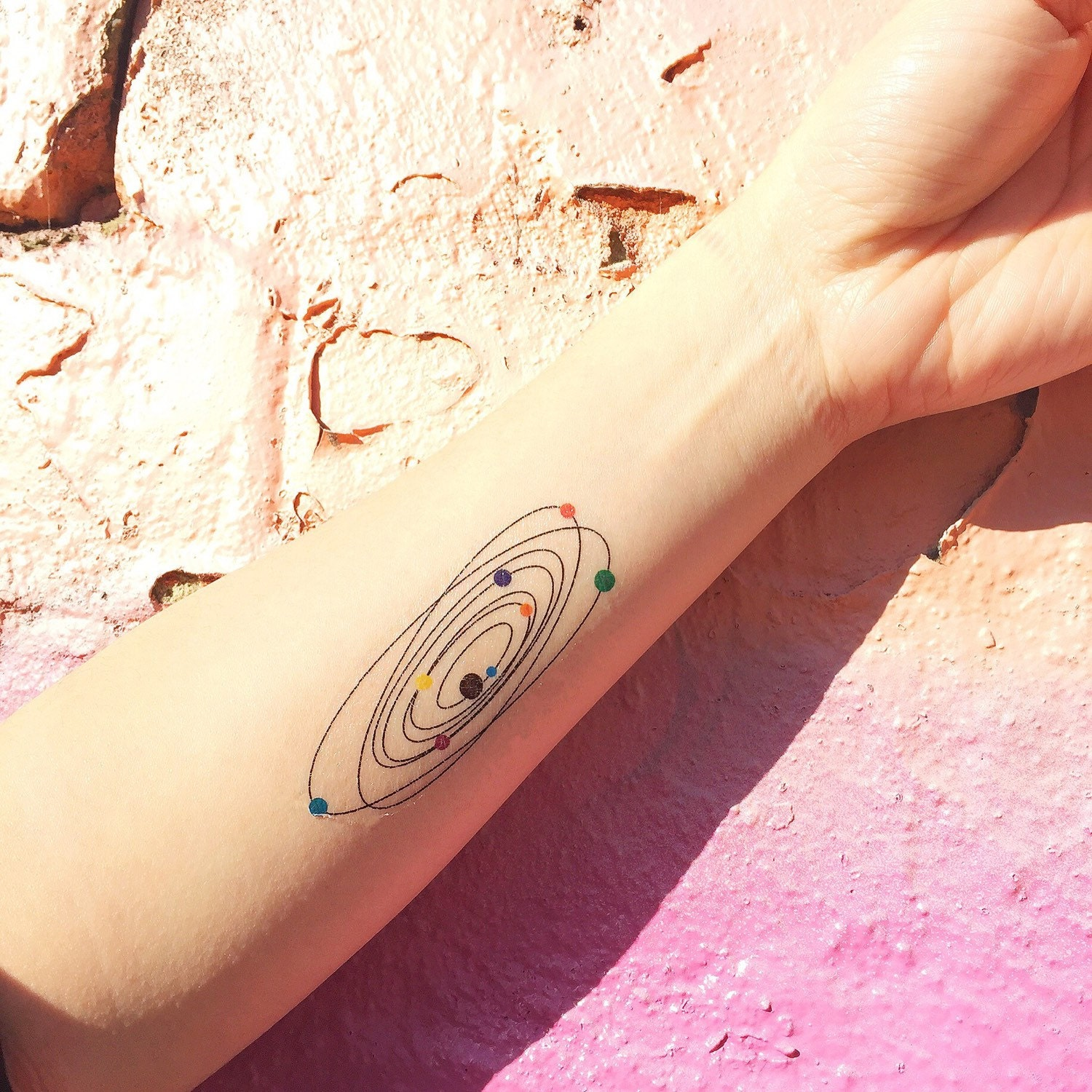 tattoos on wrist of the solar system - photo #32