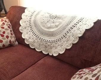 Crochet Circular Throw