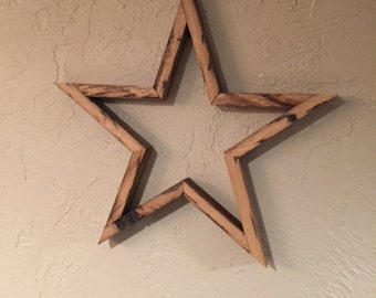 Barn wood rustic star