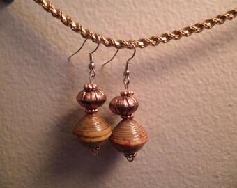 Earrings 094 Dijon Spiral