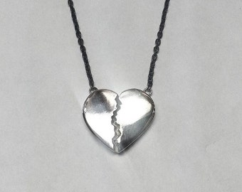 Broken Heart Necklace | Made in the USA