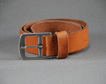 Redoker Brawn Belt - Genuine leather belt / Mens belt