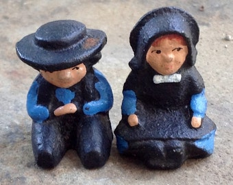 Sale miniature people Amish figurines, Collectibles, knick knacks, miniatures