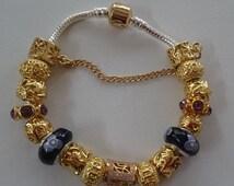 Fashion Charms bracelet European bracelet Charms fits pandora, 16 charms