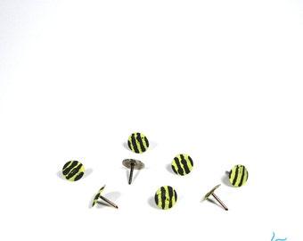 Striped Thumb Tacks