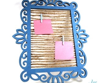 Painted Picture Frame Message Board