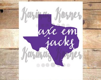 Axe Em Jacks- SFA Printable Wall Art