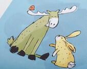 Moose + Hare Kids Room Print