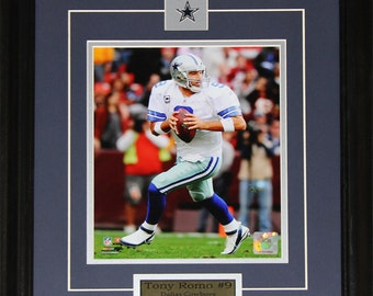 Tony Romo Dallas Cowboys NFL football 8x10 frame