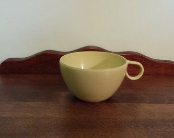 Shel-Glo Green Teacup