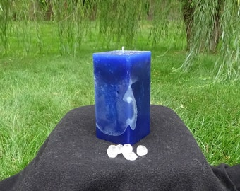 Healing Magick Square Pillar Candle