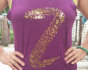 Z-Dance Tee (Zumba-style workout tee)
