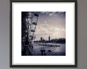 EXTRA 50% OFF Multiple Purchases Downloadable Print Photo London Black and White Photo