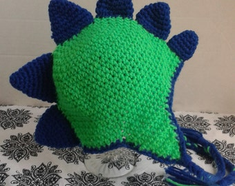 Spikes dinosaur hat *made to order*