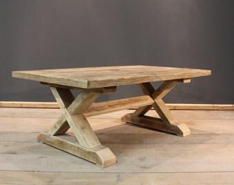 Crofters Coffee / Reception Table, Handmade Chunky (The Cinderford)