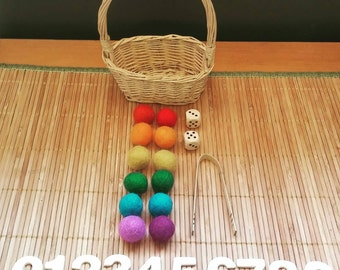 Montessori Inspired Counting  Materials