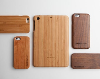 Bamboo Wood iPad Mini Case