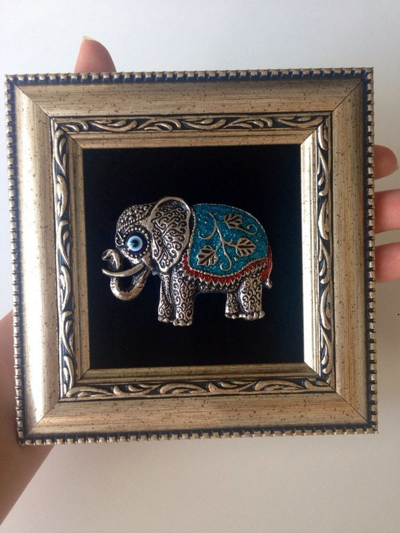 Evil Eye Decoration Wall Hanging : Framed wall decor hanging evil eye by