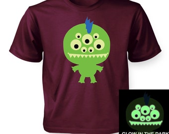 Monster (Glow In The Dark) kids t-shirt