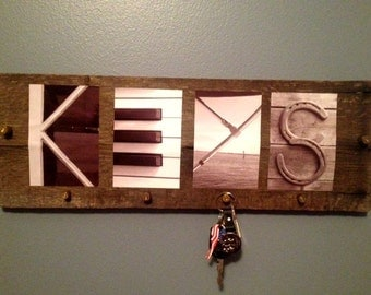 Reclaimed Wood Letter Art Photography