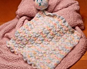 Knitted Teddy-Bear Blanket