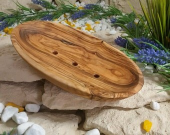 SOAP dish olive wood 10 cm wood communications