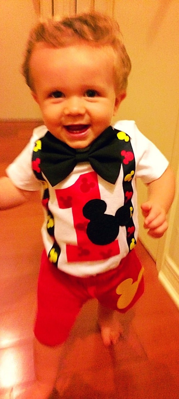 mickey mouse smash cake outfit mickey mouse birthday smash cake by 5889