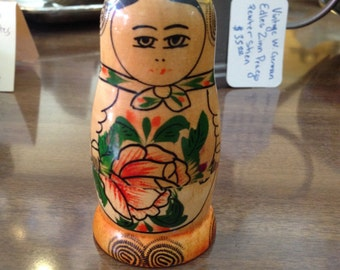 1950s Russian Stacking Dolls