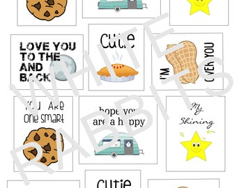 Lunch Box Notes, Printable, Instand Download, Lunch Box, Back to School, Lunch Box Sayings, Kids Lunch Box, Words of Wisdom, Lunch Box Ideas