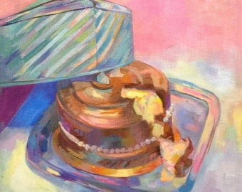 Cake- Oil Painting