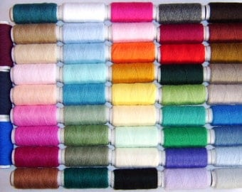 Punch Needle Embroidery Acrylic Yarn 48 Pack British Made by Webster Craft