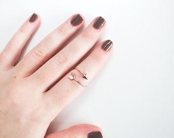 Rose Gold Arrow Ring