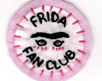 Frida Fan Club Patch