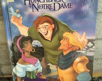 Vintage Disney Book, Disney The Hunchback of NotreDame, disneys Hunchback, Disney books