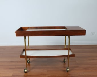 Danish Modern Bar Cart