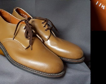 1950's Lace Up Dress Shoes   Unusual Color   Deadstock~New Old Stock~Unworn