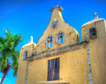 Photograph of a Spanish Colonial Church Iglesia de Ermita de Santa Isabel, Merida, Yucatan, Mexico 201500065