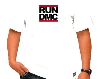 RUN DMC Mens White T-Shirt