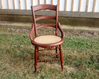 Beautiful Victorian occasional chair.