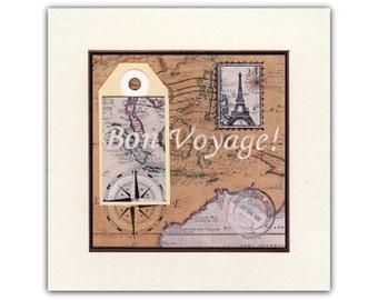 Bon Voyage -card