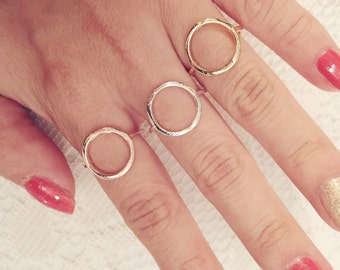 Circle Geometric Ring