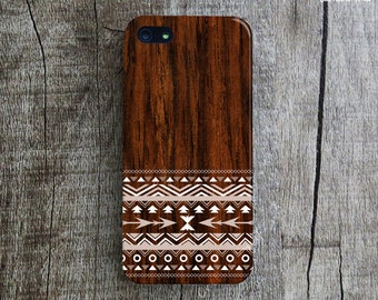 TRIBAL PATTERN iPhone 5s Case. Aztec iPhone 5 Case. Tribal iPhone 4s Case. Chic iPhone 5 Case. Wood Print iPhone Cover. Geometric iPhone 5C.