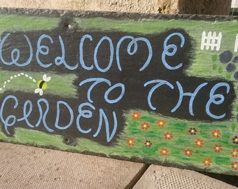 Hand Painted Slate Signs