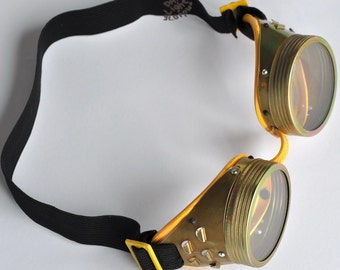 steampunk goggles  Vintage cyber goggles safety goggles burning man old steampunk goggles