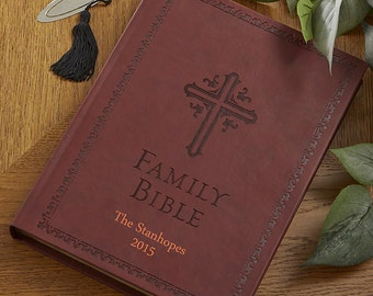 Heirloom Personalized Family Bible
